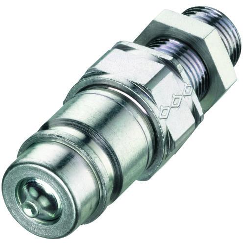 Push-Pull-Kupplung, Stecker, Schott